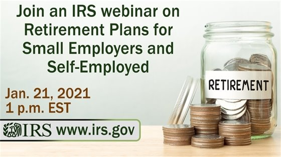 IRS Retirement Plans for Small Employers & Self-Employed