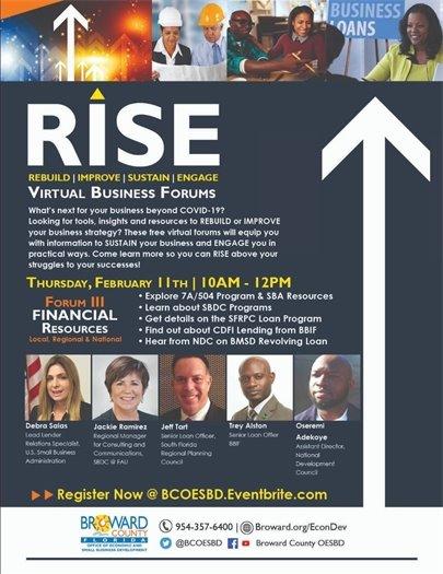 RISE Webinar • Thursday, February 11 • 9AM