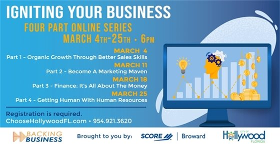 Igniting Your Business: Four Part Online Series