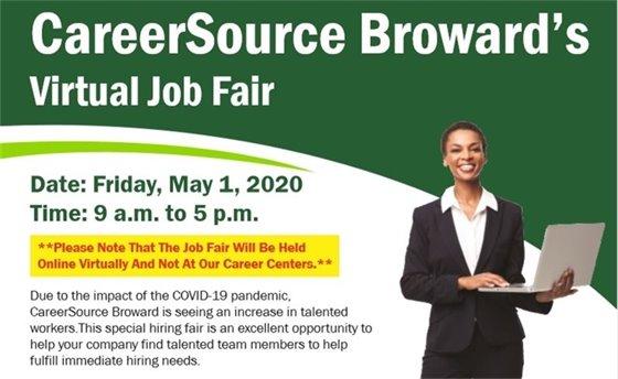 CareerSource Broward's Virtual Job Fair