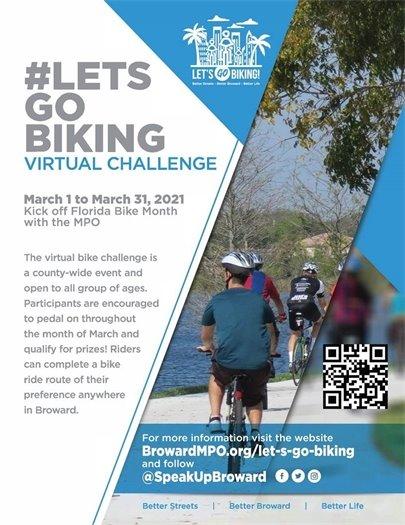 #LETSGOBIKING Virtual Challenge • March 1 to March 31, 2021