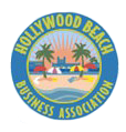 Hollywood Beach Business District logo