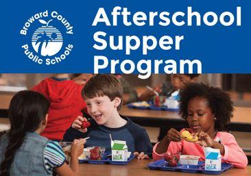Afterschool Supper Program Opens in new window