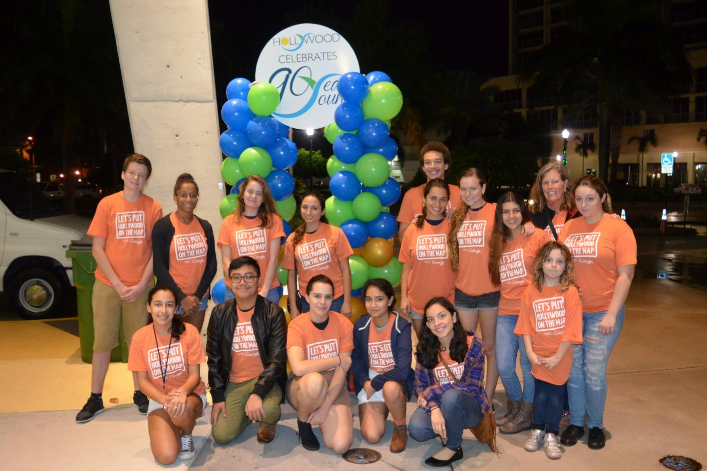 Volunteer Group at 90th Anniversary