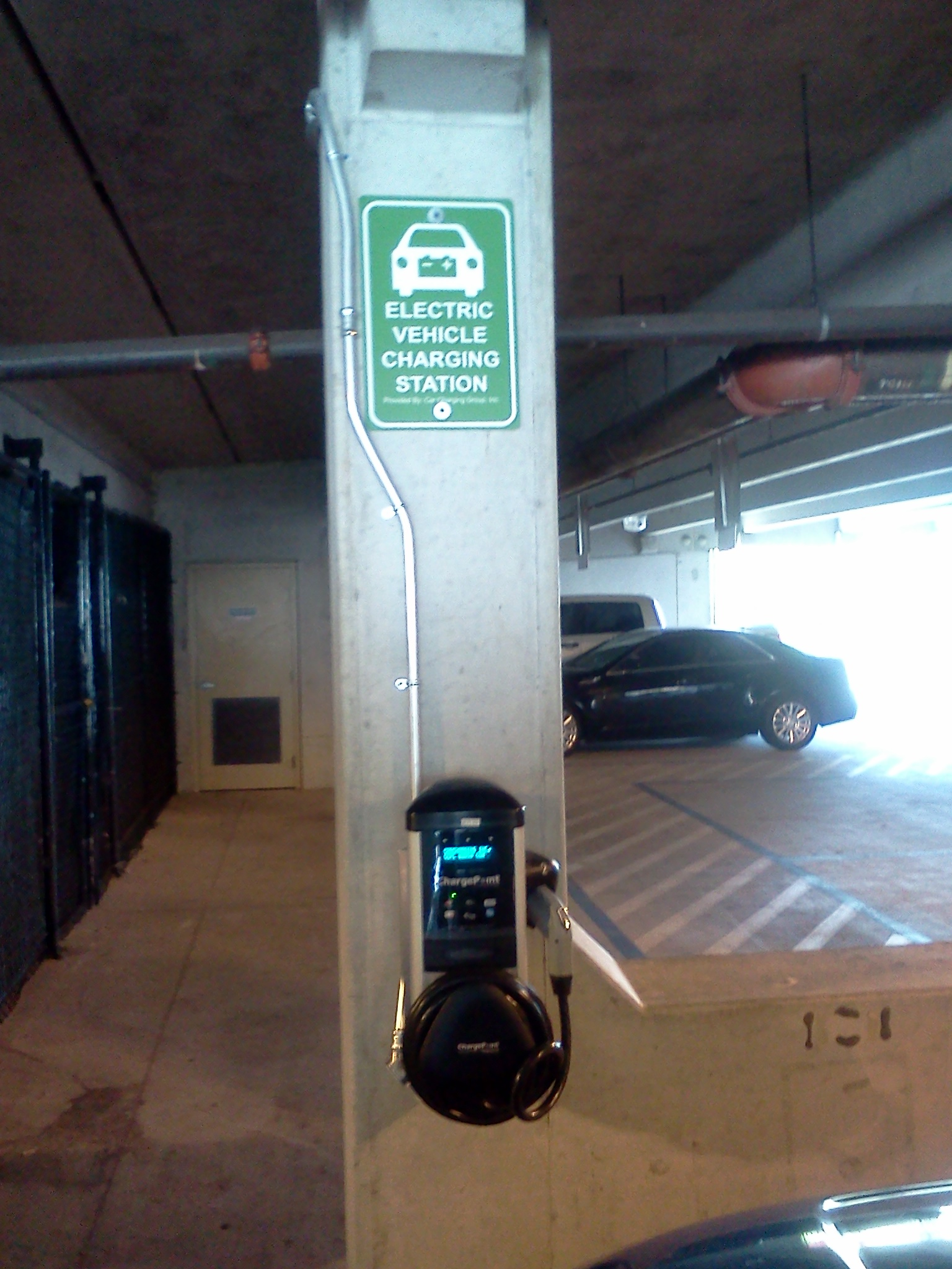 Charging%20Station Hollywood 'takes charge' of environmental concerns; adds new stations for electric cars