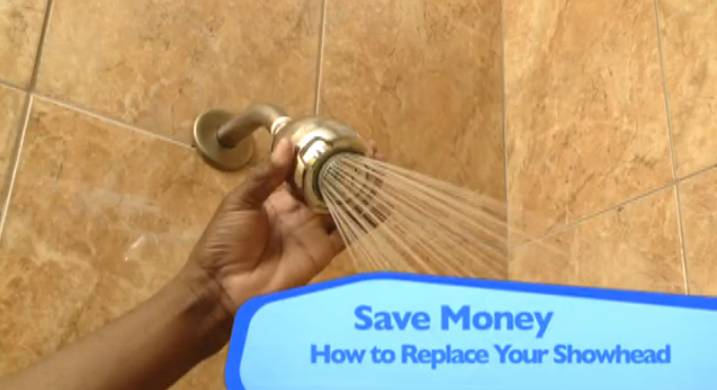 Replace Shower Head